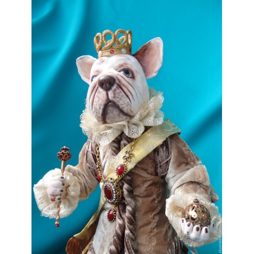 Author's doll French King