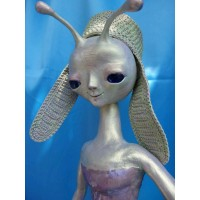 "Author's doll ""Alien Loli"""